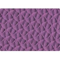Buy cheap Purple / Blue 100% Cotton Knit Fabric Material Luxury Curtain Fabric from wholesalers