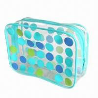 Buy cheap Promotional Phthalate-free PVC Cosmetic/Toiletry Bag, Available in Various Printing Techniques product