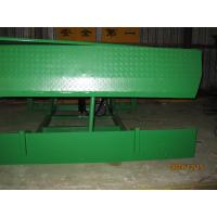 Buy cheap 8 ton Electric Stationary loading bay dock leveller with 400mm Lip plate from wholesalers