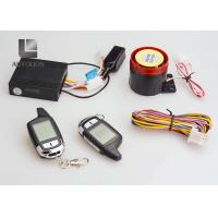 Buy cheap Universal Motorcycle Anti Theft Car Security System Two Way  Remote Control Engine Kit from wholesalers