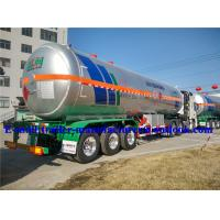 Buy cheap Gas Delivery Road LPG Semi Trailer With Rigid Tankers / Ex-Proof Hydromotor Pumping System from wholesalers