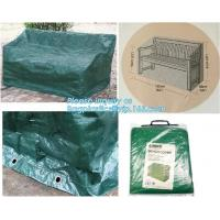 Buy cheap Green Waterproof pe plastic outdoor garden furniture covers,lounge bench covers,funiture series,garden bench cover, bag from wholesalers