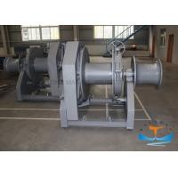 Buy cheap Hydraulic Marine Electric Winch Safe Operation With Steel Wire Rope Drum from wholesalers