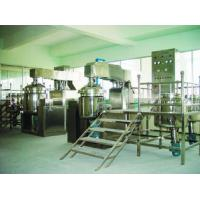 Buy cheap 3mm SUS316 500L Tilting vacuum homogenizing mixer For Cosmetic with SGS from wholesalers