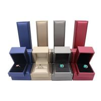 Buy cheap Durable Jewelry Packaging Boxes Custom Gift Packing Lightweight With Logo Printed from wholesalers