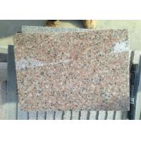 Buy cheap G681 Shrimp Pink Rose Pink Rosy Cloud Xiahong light pink red polished Granite stone tiles slabs from wholesalers