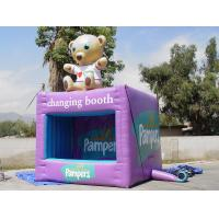 Buy cheap Portable Purple Square Kiosks With Digital Printing , Advertising Inflatables product