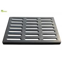 Buy cheap Square Grill Manhole Cover Fiberglass Bridge Deck Drain Trench Grating from wholesalers