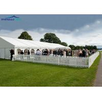 Buy cheap Large Outdoor Party Tent For 300 Seater / Clear Wedding Marquee from wholesalers