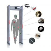 Buy cheap Touch Screen Walk Through Metal Detector Door Frame For Defender / Public / Archway Security from wholesalers