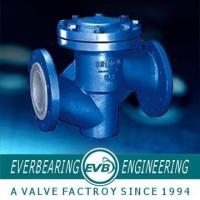 Buy cheap Fluorine Lined PTFE Check Valve , PTFE Lined Valves from wholesalers