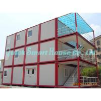 Buy cheap Three Floor Prefab Container House , Steel Shipping Container Homes from wholesalers