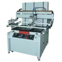 Buy cheap automatic flat 6090 pneumatic silk screen printing machine for paper from wholesalers