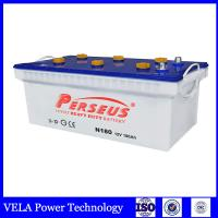 Buy cheap JIS battery Japanese Standard accumulator N180 12V 180ah truck battery rechargable car battery from wholesalers