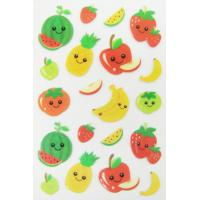Buy cheap Pretty Design Custom Puffy Stickers / Puffy Fruit Stickers Easy Removable from wholesalers