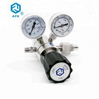 Buy cheap double stage stainless steel nitrogen gas pressure fixed regulator from wholesalers
