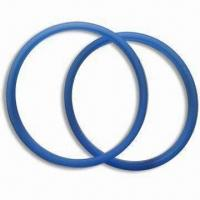 Buy cheap Blue O-ring, Made of 100% Food Grade Silicone, Any Colors Available product