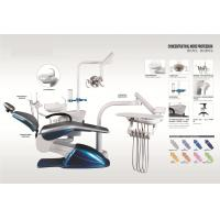 Buy cheap Dental Treatment Dental Chair Unit With Turnable Glass Cuspidor NV-D368 from wholesalers