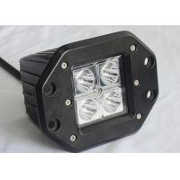 Buy cheap 3 16W 4 LED Cube Pods Vehicle LED Work Lights Flush Mount 4 x 4 4WD from wholesalers