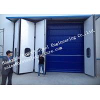 Buy cheap Aesthetic Aluminum Alloy Industrial Garage Doors Folding For Warehouse , Simple Installation from wholesalers