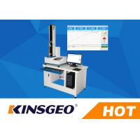 Buy cheap Digital Peel Adhesion Test Equipment With 180 / 90 Degrees Peel Strength Tester With Adhesive Tape 5KN from wholesalers