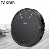 Buy cheap Dry Wet Smart Sweep Robot Remote Control Vacuum Cleaner With 2000pa Strong Suction from wholesalers