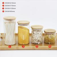 Buy cheap Customized Round Glass Food Storage Container with Sealing Lids from wholesalers