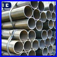 Buy cheap Q235 Round Welded Steel Tubes , Rectangular Structural Steel Pipe from wholesalers