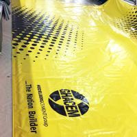 Buy cheap Heavy Duty Canvas Fabric PVC Tarpaulin Truck Cover Sheet Printable Cold Crack Resistance from wholesalers