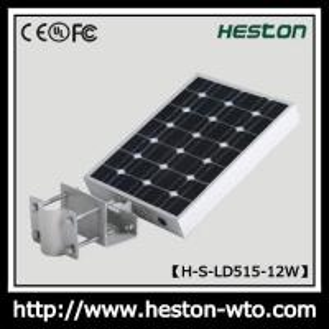 China 12W Solar LED Street Light/Solar Courtyard Light on sale