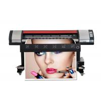 Buy cheap 1.6m Entry Level Wide Format Color Inkjet Printer Vinyl Sticker Small Banner Eco Solvent Printing Machine from wholesalers