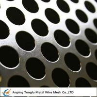 Buy cheap Round Hole Patten Perforated Sheet|Stainless Steel Perforated Plate R4 T6 from wholesalers