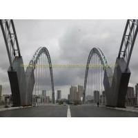 Buy cheap Heavy Duty Bailey Structural Steel Bridge Strong Quakeproof Steel Arch Bridge from wholesalers