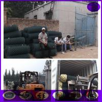 Buy cheap Wholesale price  Decorative Dark Green Pvc Coating Chain Link Fence from wholesalers