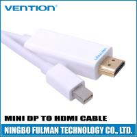 Buy cheap PVC shell HDMI Converters Adapter Cable / Gold Plated DP to HDMI Cable from wholesalers