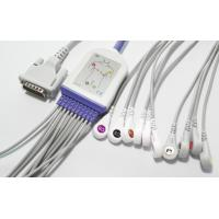 Buy cheap Snap 12 Leads EKG Cable , Schiller 10 Leads GE ECG Cable For AT1 2 3 5 AT60 AT104 CS100 from wholesalers