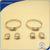 Buy cheap Flexible Quick Release Hose Clamps Stainless Steel For Cummins 4BT Engine from wholesalers