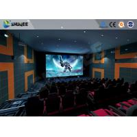 Buy cheap 5.1 Audio System 4D Big Movie Theater With Red Standard Chair product
