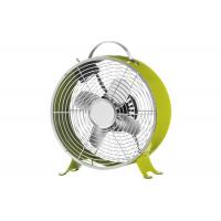 Buy cheap Stable Construction Retro Metal Desk Clock Fan With 66 * 14 Full Copper Motor from wholesalers