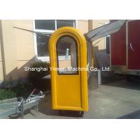Buy cheap Customized Stainless Steel Hot Dog Cart Moving Towable Snack Fast Food Kiosk from wholesalers