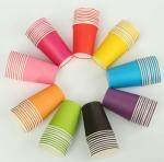 Buy cheap PE Coated Juice / Coffee Paper Cup Fan Sheet Single / Double from wholesalers