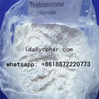 Buy cheap White Raw Steroid Testosterone Injection For Bodybuilding Testosterone Cypionate CAS 58-20-8 from wholesalers