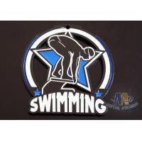 Buy cheap Soft Enamel Custom Zinc Alloy Metal Swimming Glow In The Dark Medals For Races from wholesalers