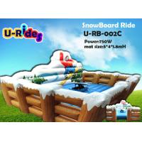 Buy cheap Christmas Mat Inflatable Surf Simulator , Mechanical Surfboard Hire For Kids from wholesalers
