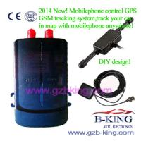 Buy cheap New Cellphone Control GPS GSM Tracking System product