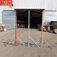 Buy cheap Concrete Cast Support Metal Poles Adjustable Steel Props product