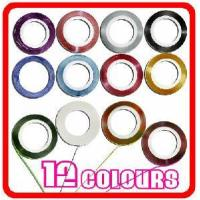 Buy cheap 12color Rolls Nail Art Tip Decoration Striping Tape from wholesalers