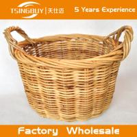 Buy cheap Factory wholesal 100% nature handcraft rattan hanging basket-Food Save Natural Wicker Bread Basket from wholesalers