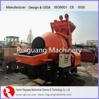 Buy cheap Concrete Mixing Pump, Concrete Mixing trailer mounted Pump from wholesalers
