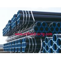 Buy cheap api steel line pipe API 5L ASTM A53 A106 WITH BLACK COATING BEVELLED ENDS AND CAPS from wholesalers